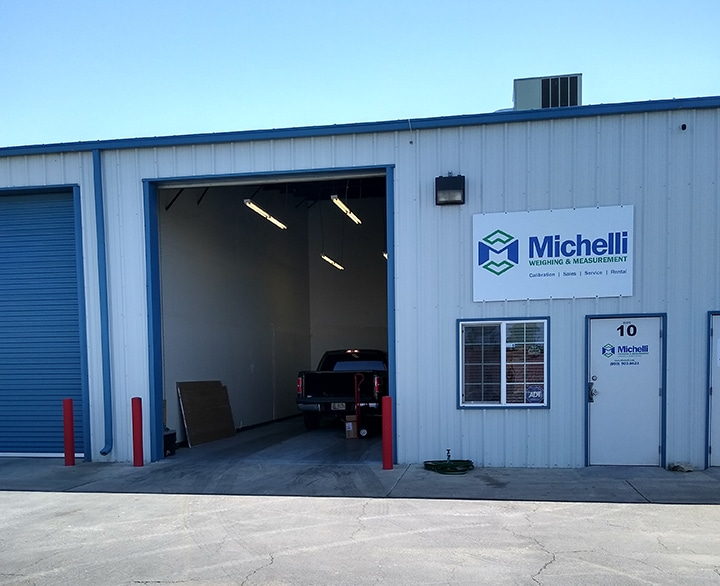 Michelli Weighing & Measurement Bakersfield, California calibration lab