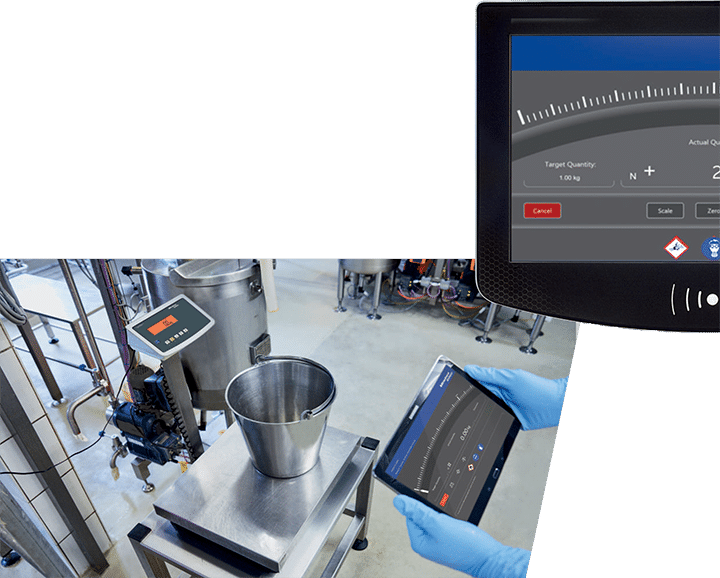 Minebea Intec ProRecipe being used in batching operation web