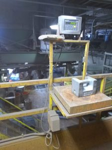 Test weight on scale to ensure accuracy & minimize downtime