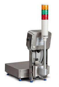 Avery Weigh-Tronix ZQ375 Checkweigher with light stack