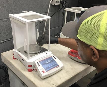 Michelli Weighing & Measurement lab balance calibration