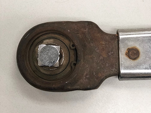 Rusted Torque Wrench