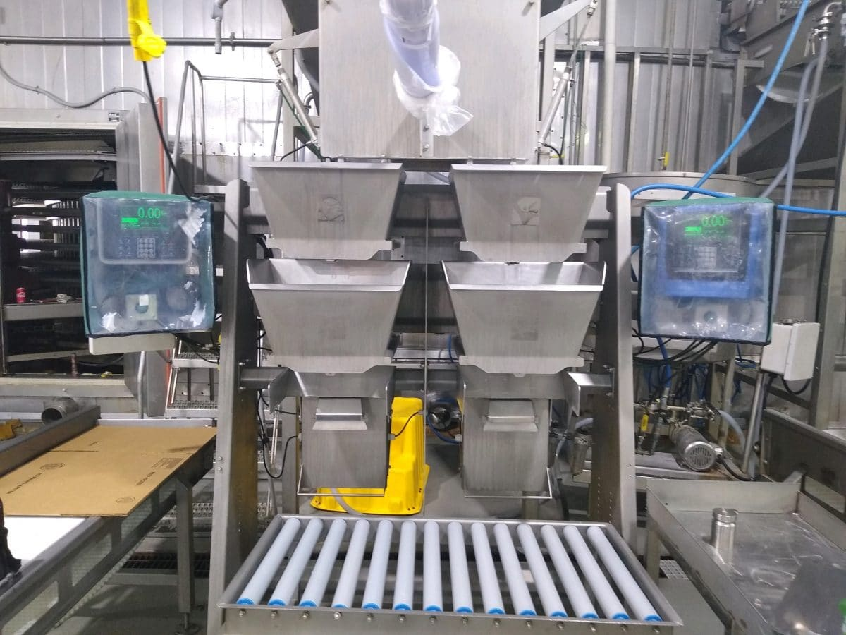 Individually Quick Frozen Catfish Packaging Weighing System