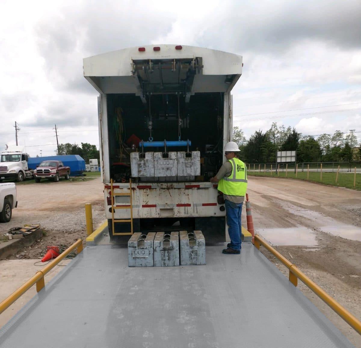 Truck Scale Calibration 2