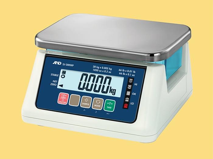 A&D Compact Washdown Scale