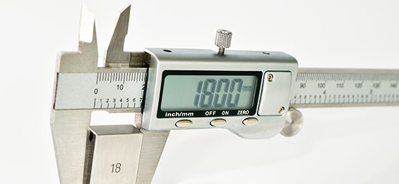Physical Dimensional Calibration of Caliper In Progress
