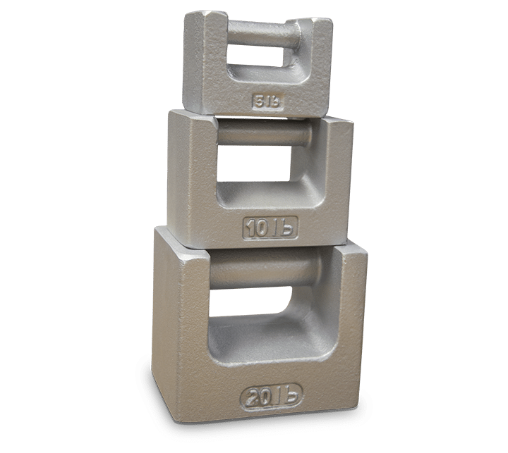 Cast Iron test weights used in calibration and inspections