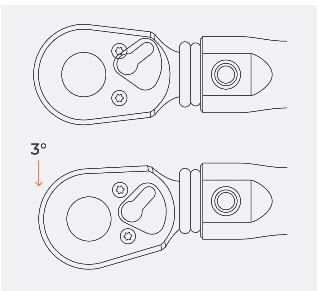 Illustration of Torque Wrench Click Wrench Mechanism