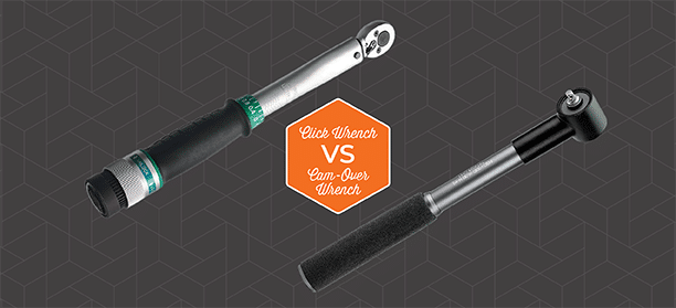 Click type torque wrench vs cam-over torque wrench