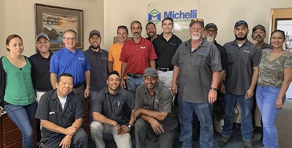 Michelli Weighing & Measurement team in Santa Fe Springs, California
