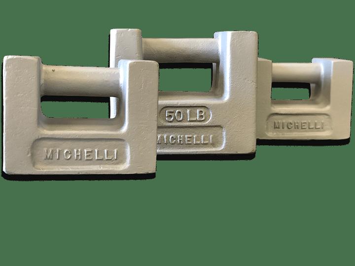 Michelli Weighing & Measurement test weights