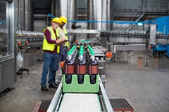 Product Inspection Line in bottled drink factory