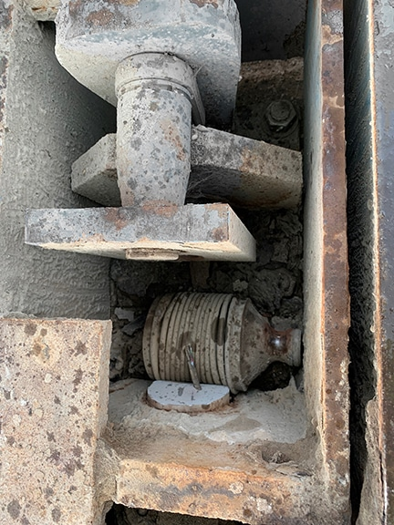 Damaged Load Cell